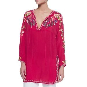 Johnny Was | Vanessa Georgette Embroidered Tunic